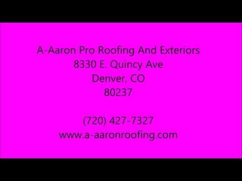 Insurance Claims in Aurora, CO - 720-427-7327 - A-Aaron Pro Roofing And Exteriors