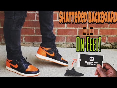 size 40 28948 79af6 Jordan 1 Shattered Backboard 3.0 ON FEET 4 MONTHS EARLY ...