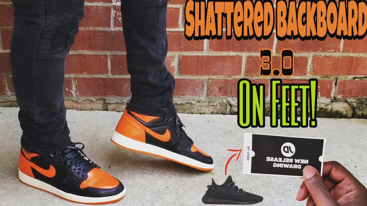 watch 71118 3fde1 Jordan 1 Shattered Backboard 3.0 ON FEET 4 MONTHS EARLY‼ Watch before you  buy‼