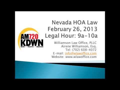 Nevada HOA Law