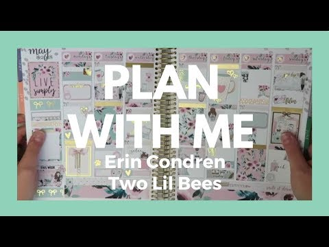 PLAN WITH ME // Two Lil Bees Live Simply - Memory Planner!