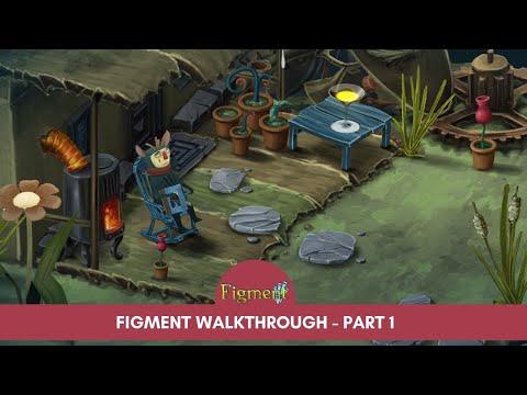 Figment Walkthrough  - Part 1 | Game-Play | No Commentary | Deshi Gaming | দেশী গেমিং | ফিগমেন্ট |
