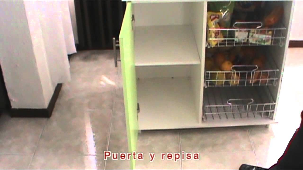 MUEBLE AUXILIAR PARA COCINA - YouTube