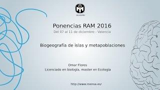 Biogeografía de islas y metapoblaciones