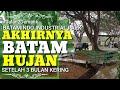 Batam Hujan Deras Setelah 3 Bulan Kering Kerontang • Video Mukakuning Batamindo Industrial Park