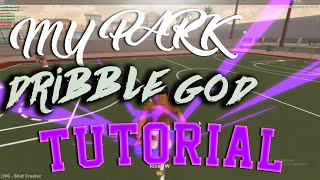 HOW TO BECOME A MYPARK DRIBBLE GOD! GLITCHY ROBLOX MYPARK MOVES 😈
