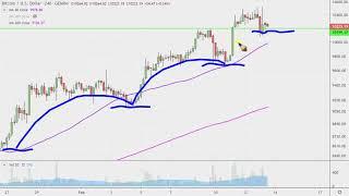 Bitcoin Chart Technical Analysis for 02-13-2020