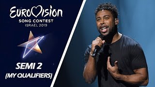 Eurovision 2019 SEMI-FINAL 2 | My 10 Qualifiers (Random Order)