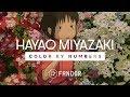 The visual aesthetic of hayao miyazaki mp3