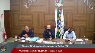 Câmara Municipal de Colina - 7ª Sessão Extraordinária 02/06/2021