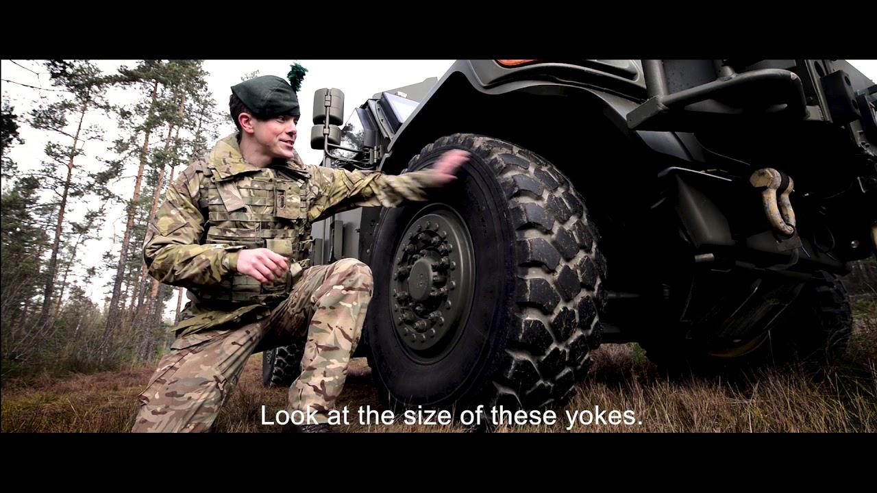 British Army Cribs Husky British Army Youtube