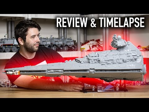 2019 LEGO Star Wars UCS Imperial Star Destroyer 75252 REVIEW (4K)