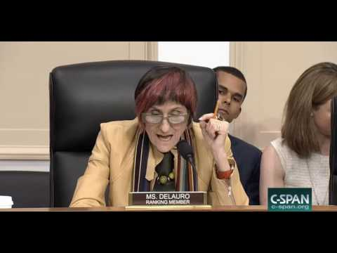 Ranking member, Ms Delauro, sets the record straight in her closing remarks.