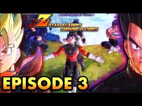 [DBXV2 ROLEPLAY] Z-Star Academey Tournament of Students Episode 3 Mysterious saiyan vs Virus