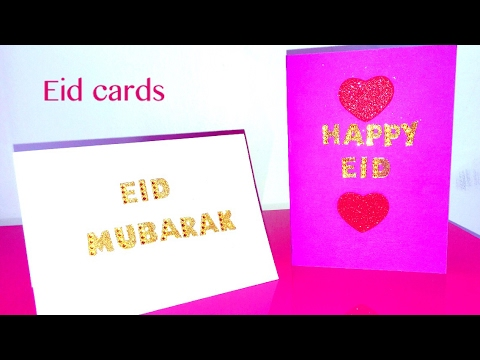 How To Make Eid Cards Diy Youtube