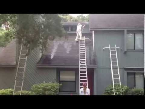 Exterior House Washing - Werner Ladders - YouTube