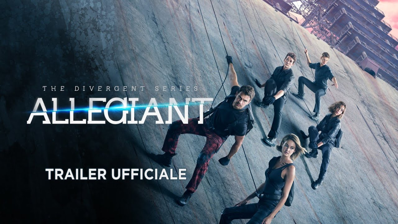 The Divergent Series: Allegiant (Shailene Woodley, Theo James) - Trailer italiano ufficiale #2 [HD]