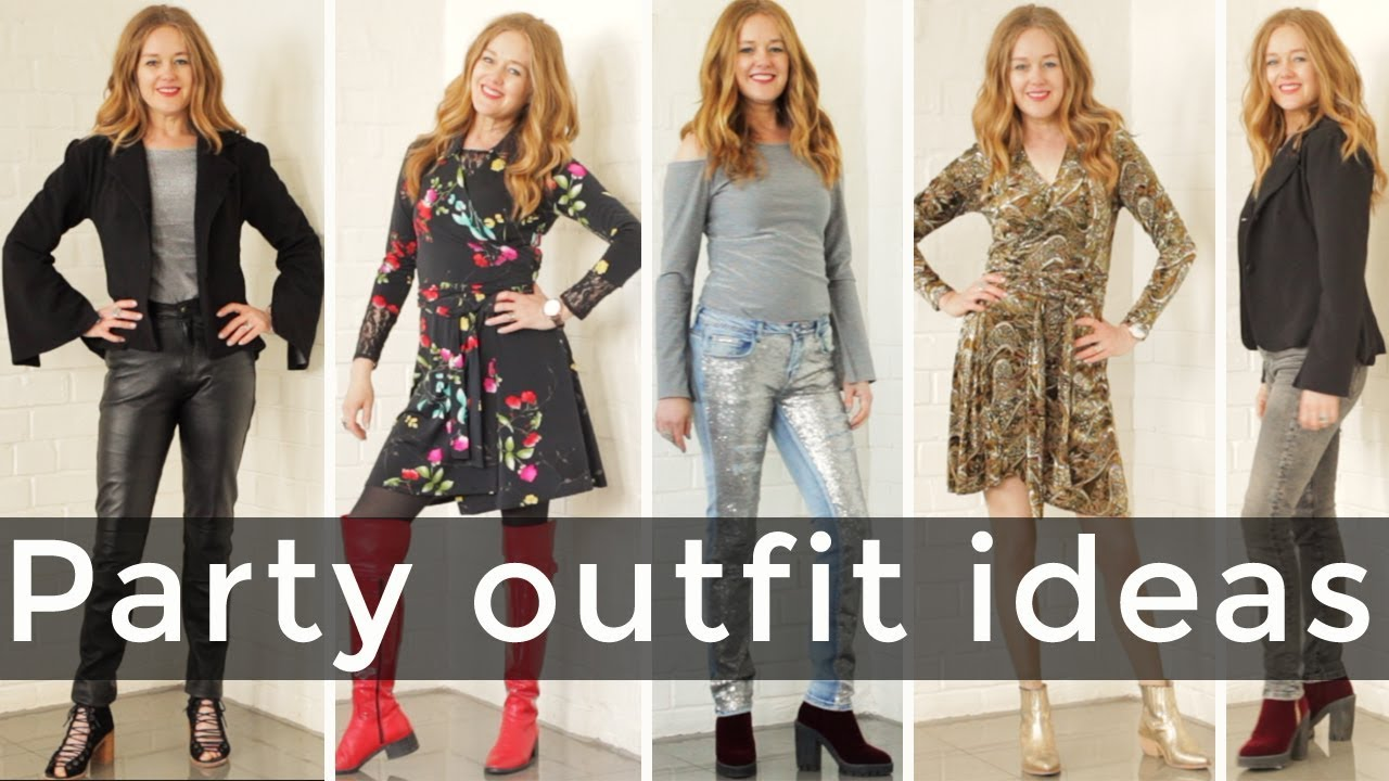 b1a3ce9aa0d Party outfit ideas for women over 40 - over 40 style - YouTube