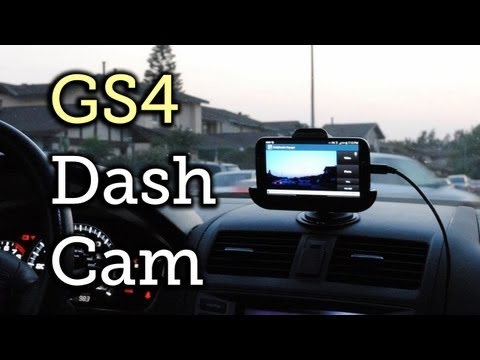 Turn Your Samsung Galaxy S4 Into A Dash Cam For Your Car [How-To]