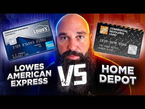 Lowes Credit Cards Vs Home Depot Credit Cards