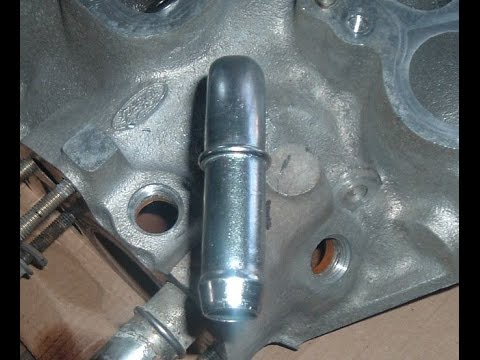 1997 04 Ford F150 V6 Water Outlet Pipe Installation With