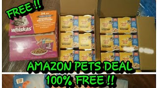 Amazon Pets Deal. ALL 100% FREE !!!