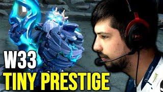 Liquid.w33 New IMMORTAL TINY PRESTIGE Item -  Epic Gameplay ft. N0tail, MinD_ContRoL, Ceb - Dota 2