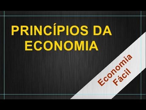 Introdução à economia 1 - Princípios da economia