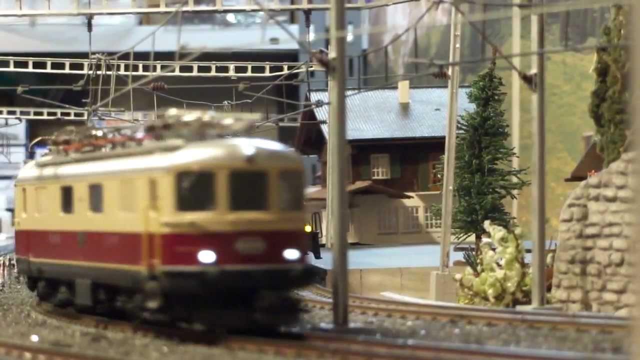 Märklin Sbb Tee Bavaria Express Train 26557 In Omokochi Modelbahn Youtube