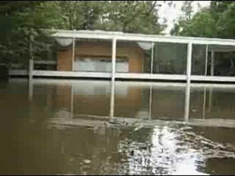 Farnsworth House Flooding  YouTube