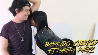 KISS CHALLENGE//RETO DE BESOS Y DEL RAP FT MARTINA LA PELIGROSA PARTE 2//SIENDOKAM