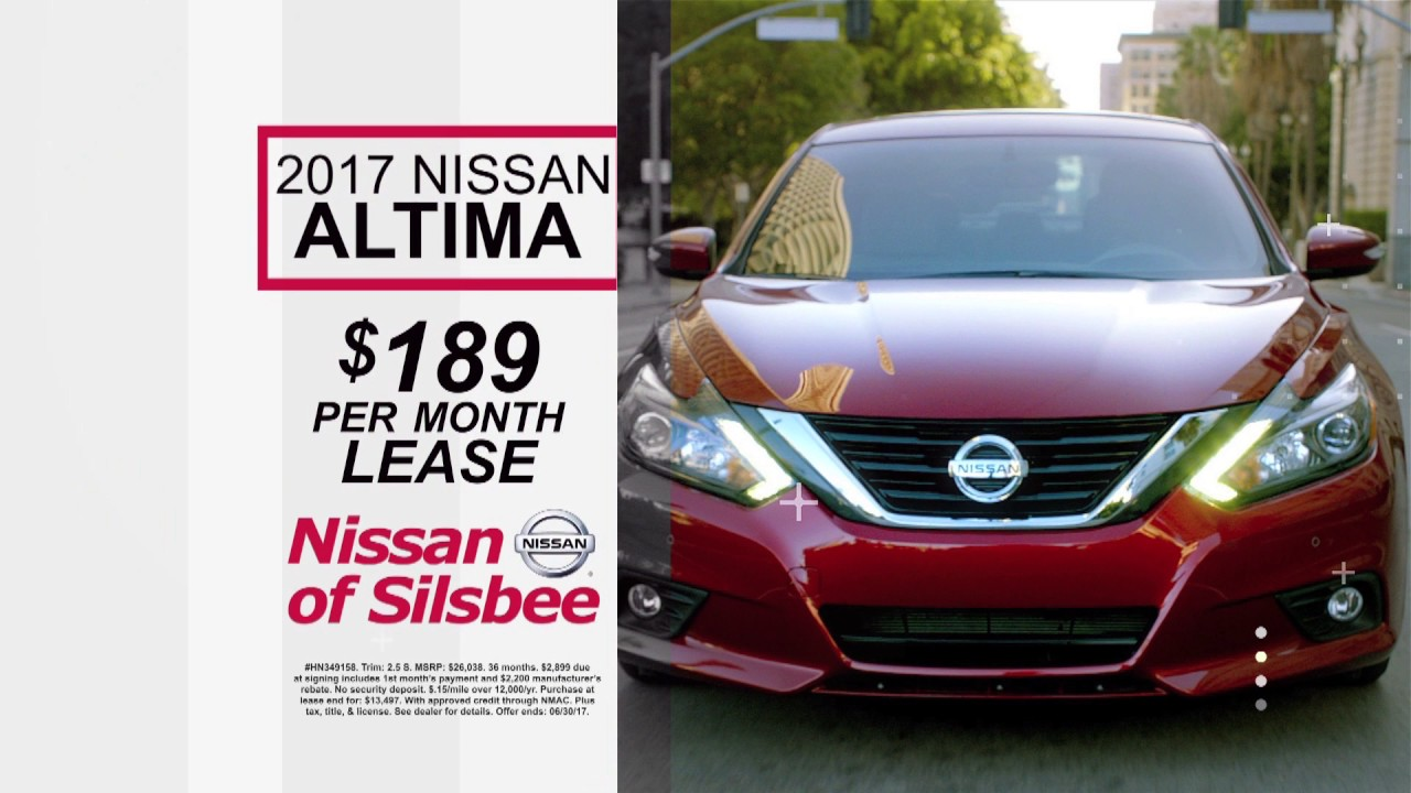 Nissan Of Silsbee New Cars Tx 866 389 2348 06 17 Altima Commercial