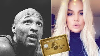 Khloé Kardashian MAXED OUT Lamar Odom's CARD for $17,000. American Express is now SUING Lamar