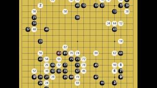 囲碁棋譜再現 第十五回理光杯第二局 黒番:廖行文 vs 白番:王檄