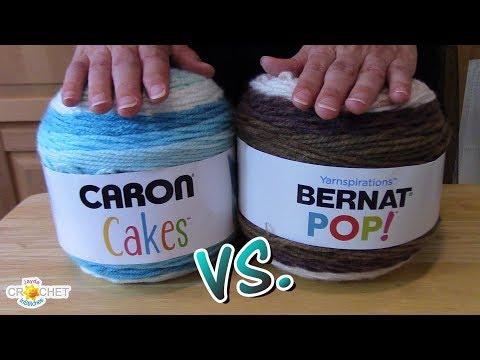 Caron Cakes Vs. Bernat Pop