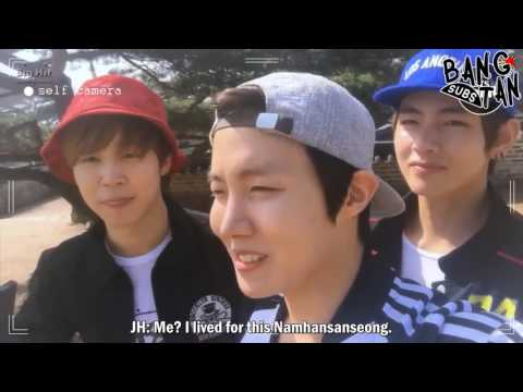 [ENG] 150412 [BTS in NAVER STAR CAST] BANGTAN BOMB BTS Trip to Namhansanseong! Summit Self-Cam