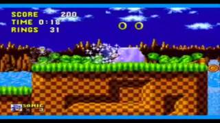 Sonic The Hedgehog with Super Mario sound effects.
