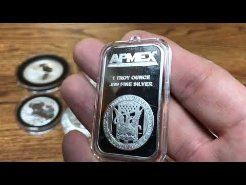 What is Bullion? Silver and Gold bullion