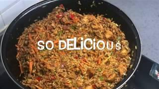 Ghanaian Fried Rice  🇬🇭  🇬🇭