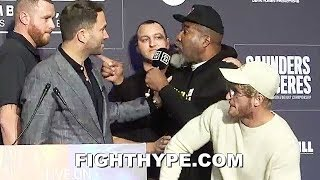 SHANNON BRIGGS ERUPTS ON VIDDAL RILEY; TRADES WORDS AND GOES AFTER HIM AFTER DRUG DISS