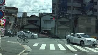 北九州市小倉北区中央郵便局前〜国道10号線下り