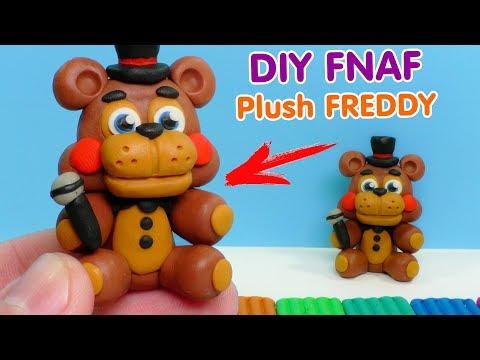 ФНАФ - КАК СЛЕПИТЬ ФРЕДДИ ИЗ ПЛАСТИЛИНА | DIY Five Nights At Freddy's Plush Freddy