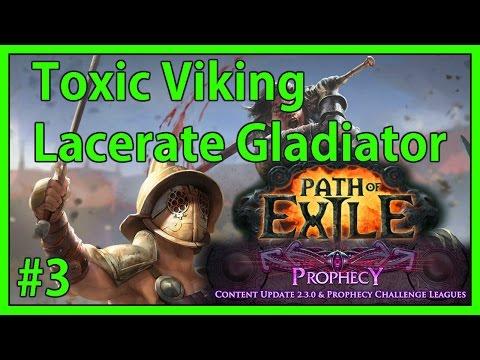 Child of Lunaris & Chamber of Sins - #3 - Toxic Viking - Path of Exile (v2.3.1c)