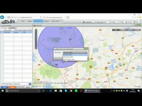 GPS Tracker How it works on google maps web platform software