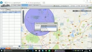 GPS Tracker How it works on google maps web platform software
