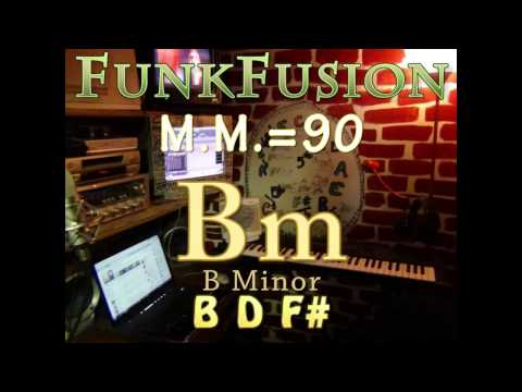 bm minor (funkfusion m.m. = 90) one chord jam vamp