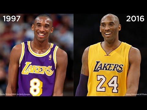 NBA stars then & now