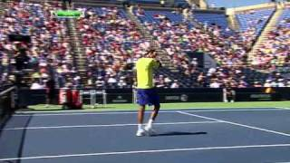 US Open 2011   Men's Singles   1st Round   Harrison vs Cilic Part 5