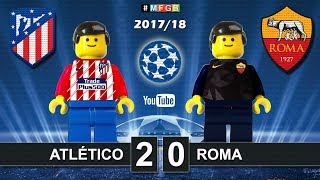 Atletico Madrid - Roma 2-0 • Champions League (22/11/2017) Goals Highlights Lego Football 2017/18
