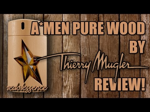 A*Men Pure Wood by Thierry Mugler Fragrance / Cologne Review